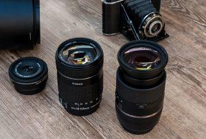 עדשות המשמשות לצילום מגנטים באירועים